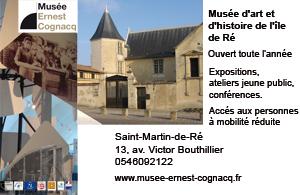 Musée Ernest Cognacq, le musée de l'île de Ré