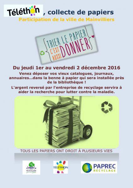 recyclage papier entreprise gratuit