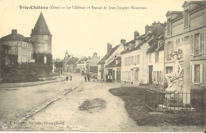 L 39 hommage jean jacques rousseau trie ch teau site for Piscine trie chateau